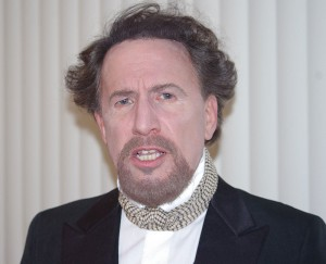 Bennett Gale as Charles Dickens. Photo: New Frontier Theatre Company.