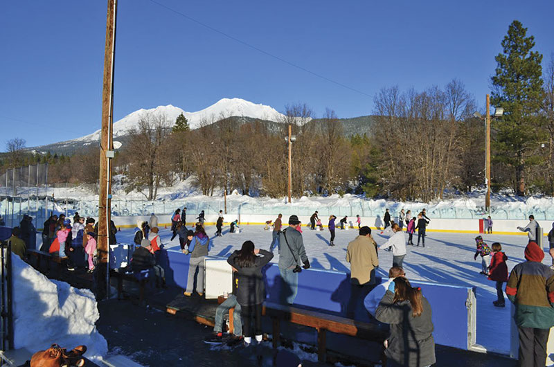 The Siskiyou Ice Rink