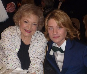 Lou Wegner and Betty White